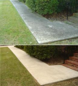 J Amp M Power Washing Concrete Cleaning